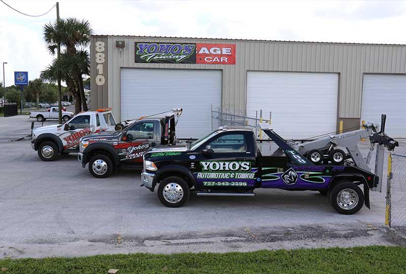 Yoho Towing Truck Fleet